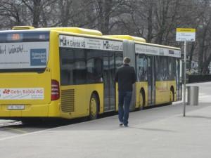 Buses in Basel, Switzerland