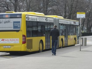 Buses in Basel, Switzerland
