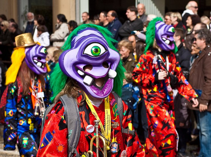 Fasnacht cyclops - Photo by Simon Hoggett