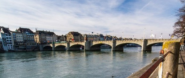 Mittlebrucke over the Rhine - Photo courtesy of Simon Hoggett
