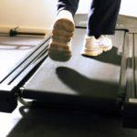 Basel man on a treadmill