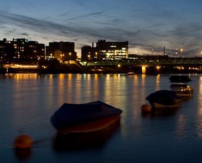 Boats on the Rhine - Photo courtesy of Simon Hoggett